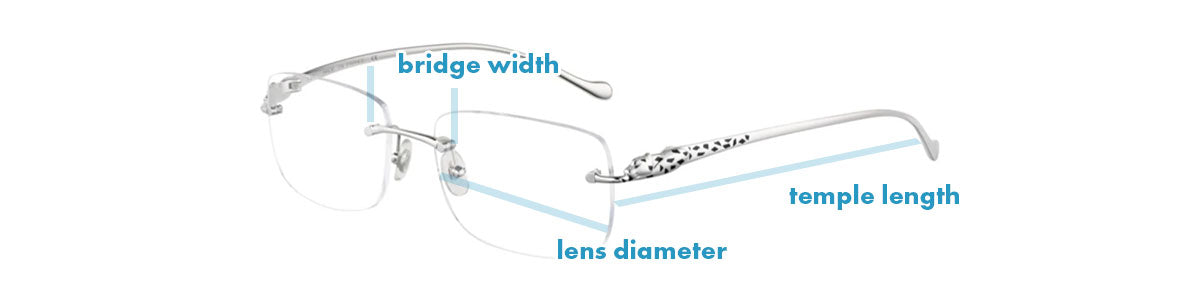 Cartier CT 0063O Size Guide