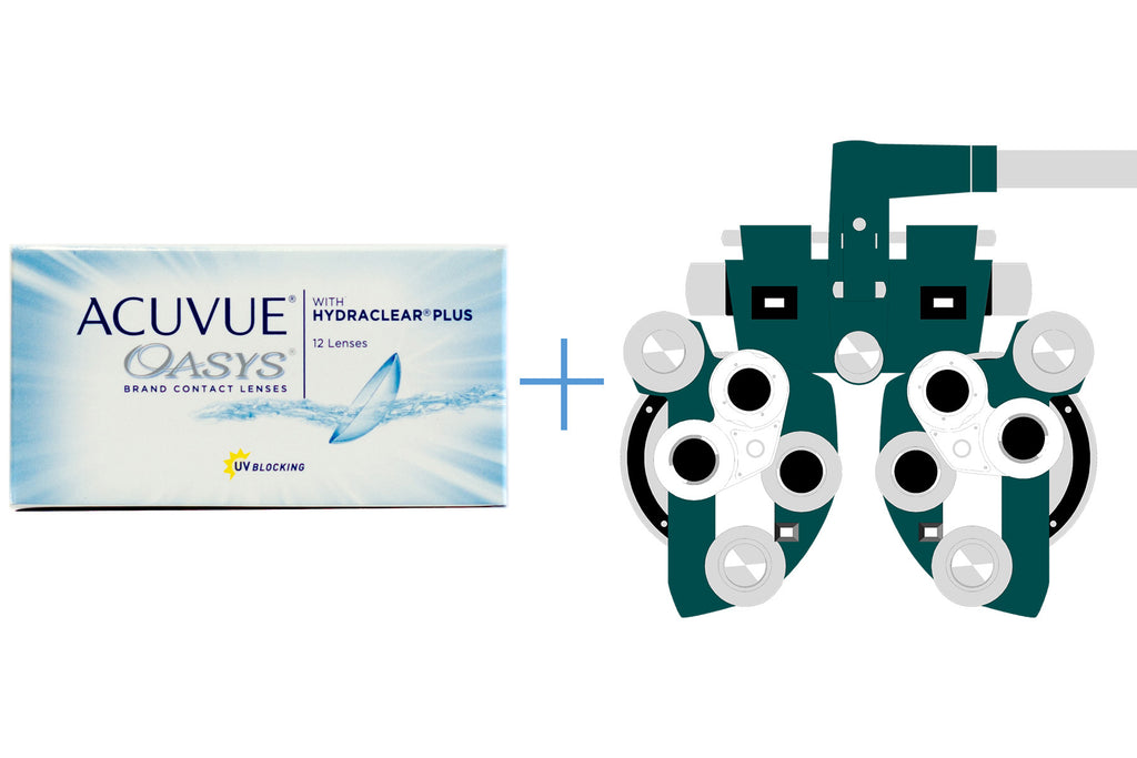 Acuvue Oasys 2-Week (6 pack) + Eye Exam