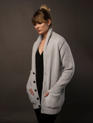 The Cashmere Shawl Cardigan