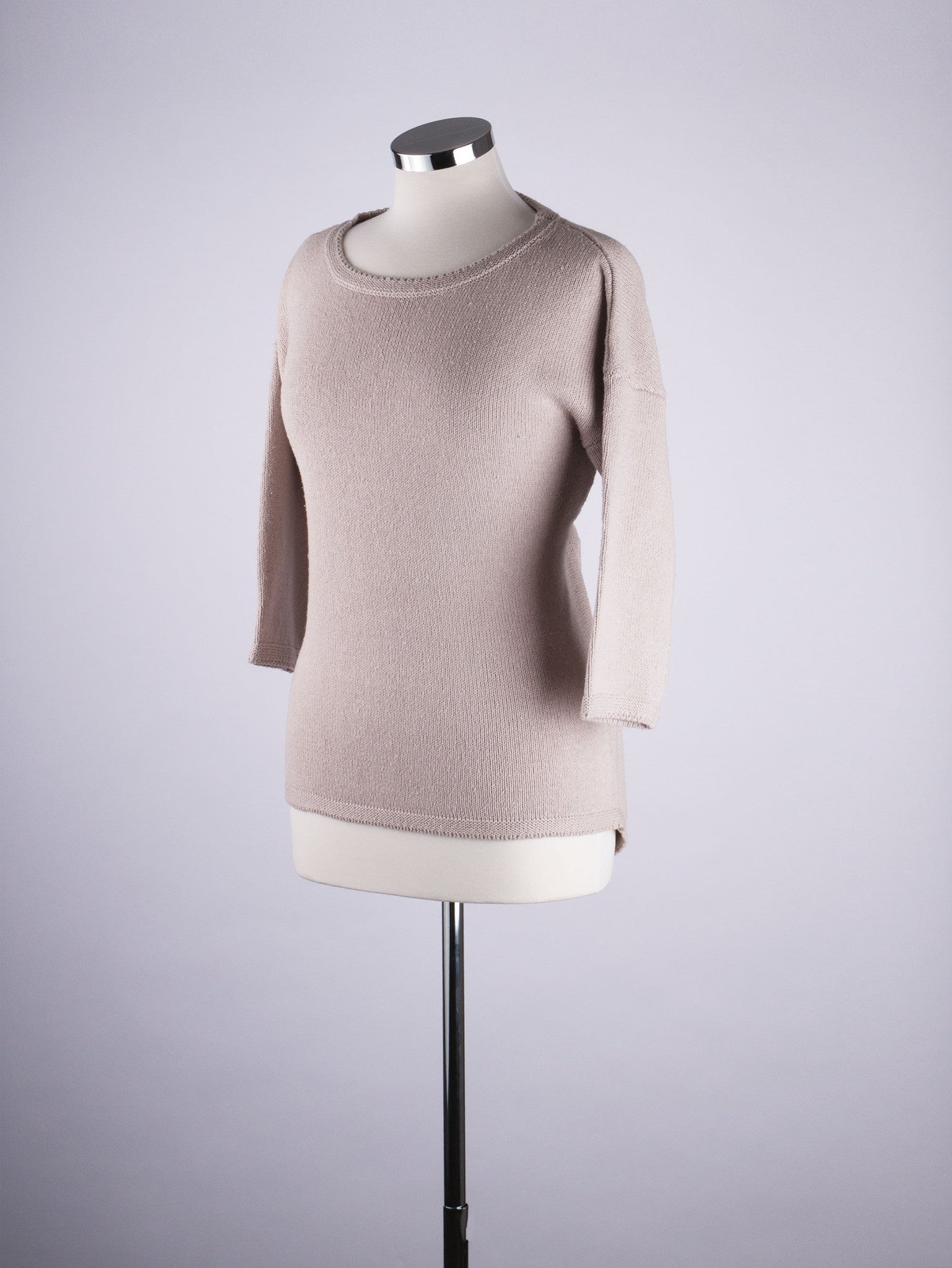 Button Back Jumper - Sand