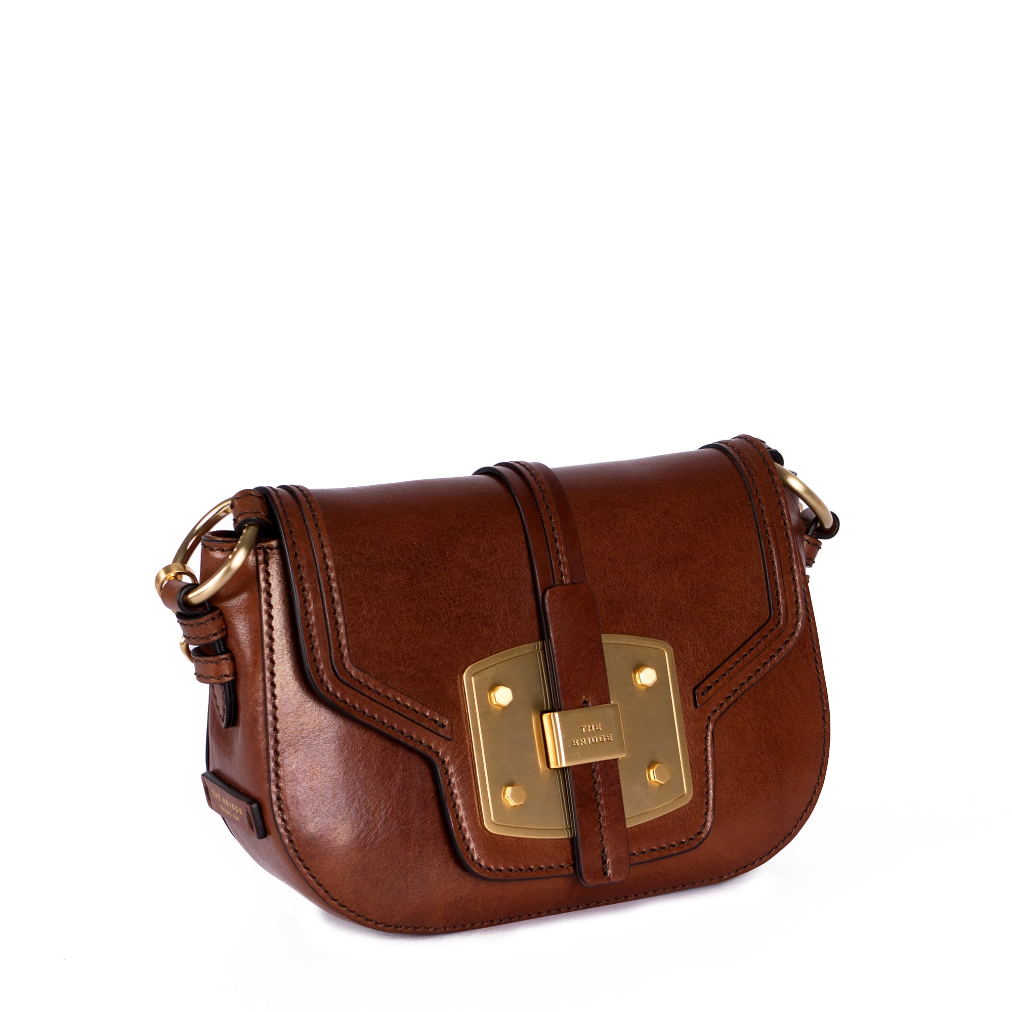 Shoulder Clutch Classic Brown