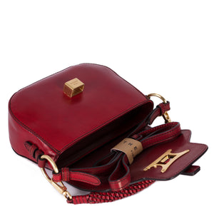 Shoulder Clutch Red