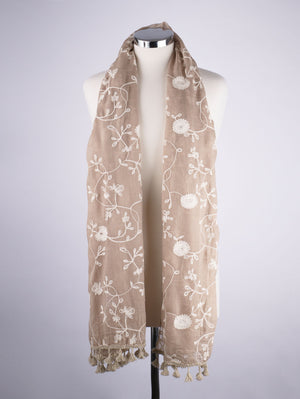 Embroidered Scarf