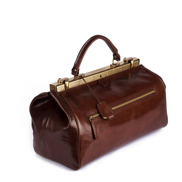 The Bridge Bags Leather Gladstone Bag At Douglas Attire