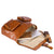 Slouch Briefcase Tan