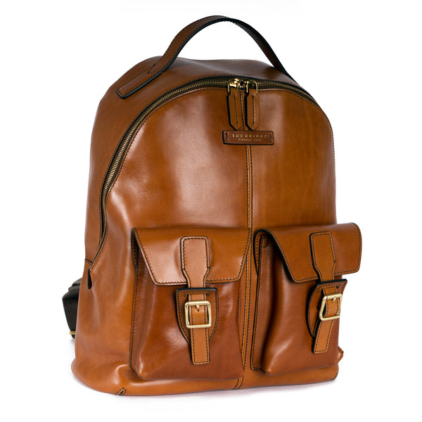 Tan Rucksack Workbag