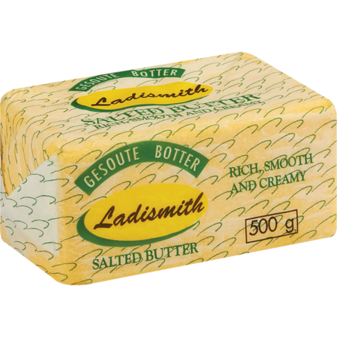 Ladismith Butter Salted 500g