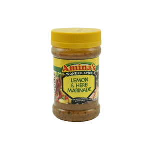 Amina's Lemon & Herb Marinade Tub 325G