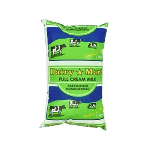 Dairy Mart Full Cream Milk Packet 1L