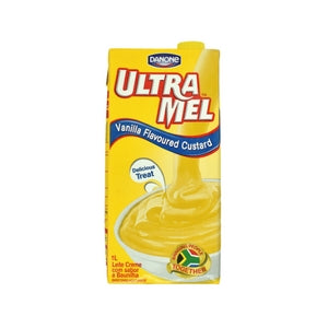 Danone Ultra Mel Vanilla Flavoured Custard Box 1L