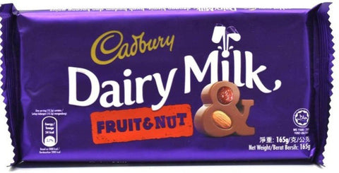 Cadbury Fruit & Nut 150G