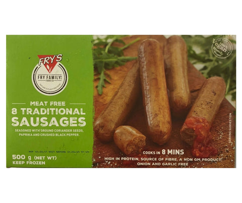 Fry'S Veg Traditional Sausages 500G