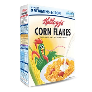 Kelloggs Corn Flakes Cereal 500g - BalmoralOnline - Groceries