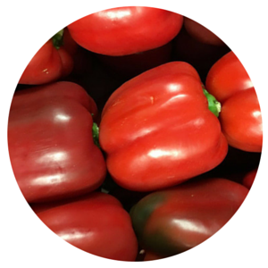 Peppers Red Per Kg - BalmoralOnline - Fruit & Vegetables