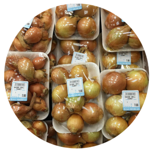 Onions Small Punnet 450g - BalmoralOnline - Fruit & Vegetables