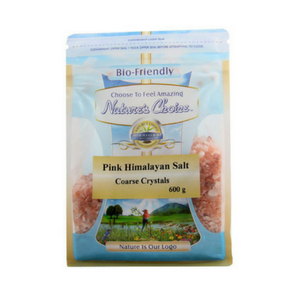 Natures Choice Pink Himalayan Salt Coarse 600G