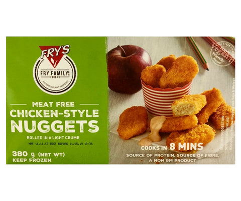 Fry'S Veg Chicken Style Nuggets 380G