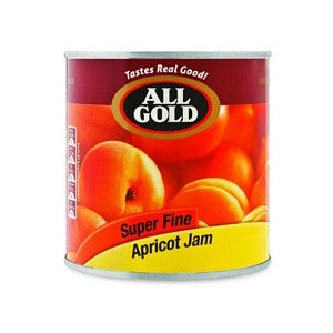 All Gold Super Fine Apricot Jam Tin 900g - BalmoralOnline - Groceries