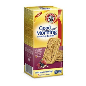 Bakers Good Morning Biscuits Mixed Berries 300g - BalmoralOnline - Groceries