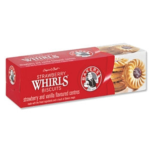 Bakers Strawberry Whirls 200g - BalmoralOnline - Groceries