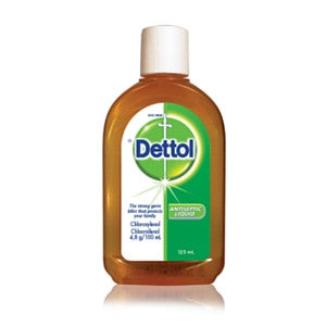 Dettol Antiseptic Liquid Bottle 125ml - BalmoralOnline - Household