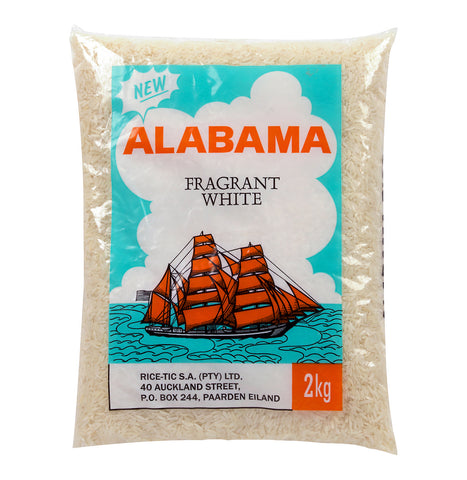Alabama Fragrant White Rice 2Kg