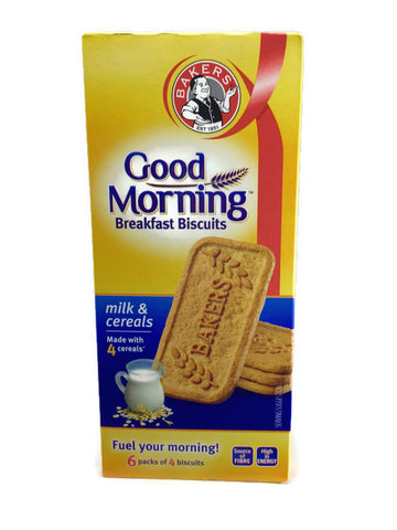 Bakers Good Morning Biscuits Milk & Cereal Flavour 300G