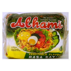 Alhami Noodles 5pk Vegetable  Flavour - BalmoralOnline - Groceries
