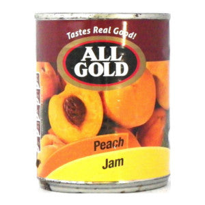 All Gold Peach Jam Tin 450g - BalmoralOnline - Groceries