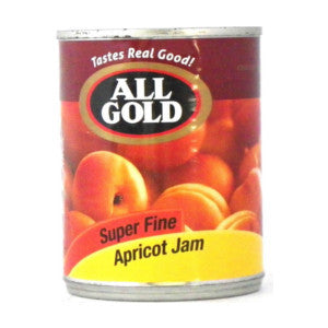 All Gold Super Fine Apricot Jam Tin 450g - BalmoralOnline - Groceries
