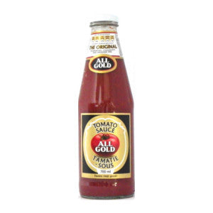 All Gold Tomato Sauce Bottle 700ml - BalmoralOnline - Groceries
