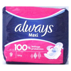Always Maxi Long 9's - BalmoralOnline - Household