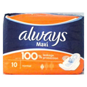 Always Maxi Normal 10's - BalmoralOnline - Household