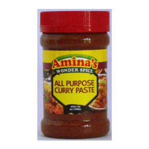 Amina's All Purpose Curry Paste Tub 325g - BalmoralOnline - Groceries
