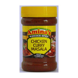 Amina's Chicken Curry Masala Tub 325g - BalmoralOnline - Groceries