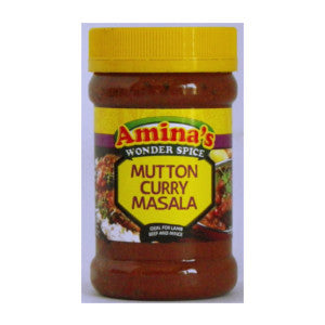 Amina's Mutton Curry Masala Tub 325g - BalmoralOnline - Groceries