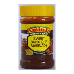 Amina's Sweet Barbeque Marinade Tub 325g - BalmoralOnline - Groceries