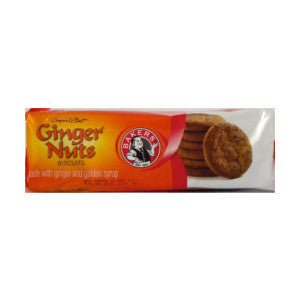 Bakers Ginger Nut Biscuits Pack 200g - BalmoralOnline - Groceries