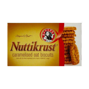Bakers Nuttikrust Biscuits Box 200g - BalmoralOnline - Groceries