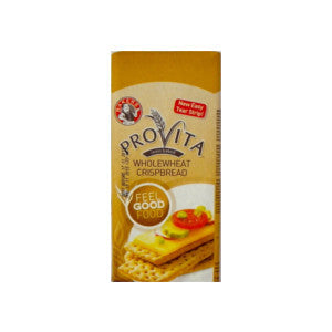 Bakers Provita Wholewheat Crispbread Packet 250g - BalmoralOnline - Groceries