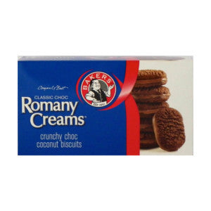 Bakers Romany Creams Box 200g - BalmoralOnline - Groceries