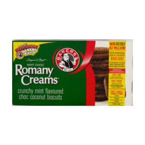 Bakers Romany Creams Mint 200g - BalmoralOnline - Groceries