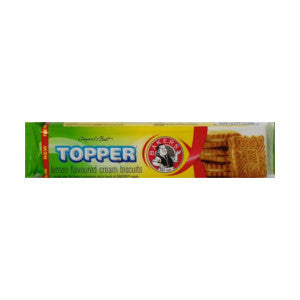 Bakers Topper Lemon Flavour Biscuits Pack 125g - BalmoralOnline - Groceries