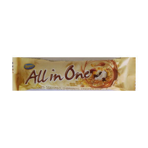 Beacon All In One Oats, Coconut, Currants, Crispedrice, &Nuts In Smooth Chocolate Bar 62g - BalmoralOnline - Groceries