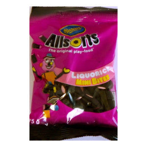 Beacon Allsorts Liquorice Mini Bites Packet 75g - BalmoralOnline - Groceries