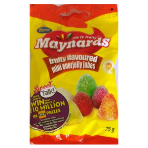 Beacon Maynards Fruity Flavoured Jubes Packet 75g - BalmoralOnline - Groceries