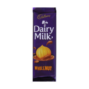 Cadbury Dairy Milk  Wholenut Bar 80g - BalmoralOnline - Groceries