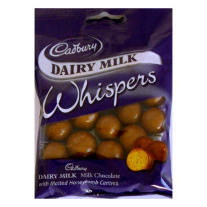 Cadbury Dairy Milk Whispers Packet 65g - BalmoralOnline - Groceries