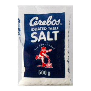 Cerebos Iodated Table Salt Packet 500g - BalmoralOnline - Groceries