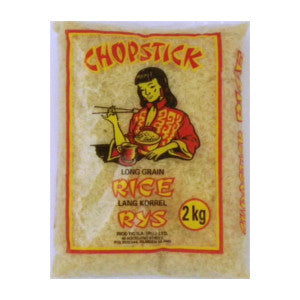 Chopstick Long Grain Rice 2kg - BalmoralOnline - Groceries